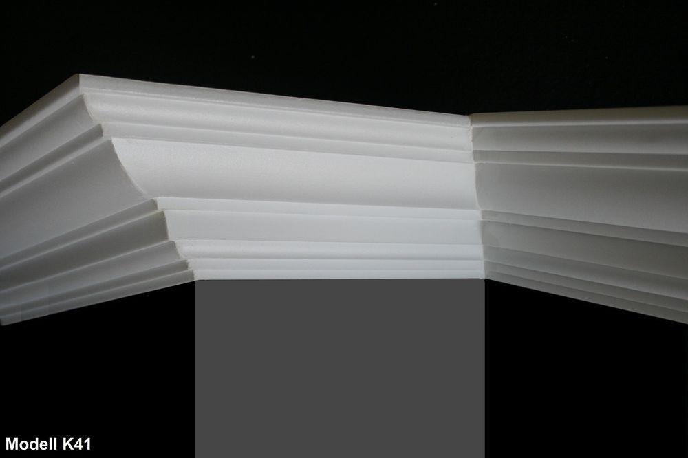 26 M 4 Ecken Styroporleisten Zierleisten Stuck Profile Zierprofile K41 Ebay Zierleisten Stuckleisten Styroporleisten
