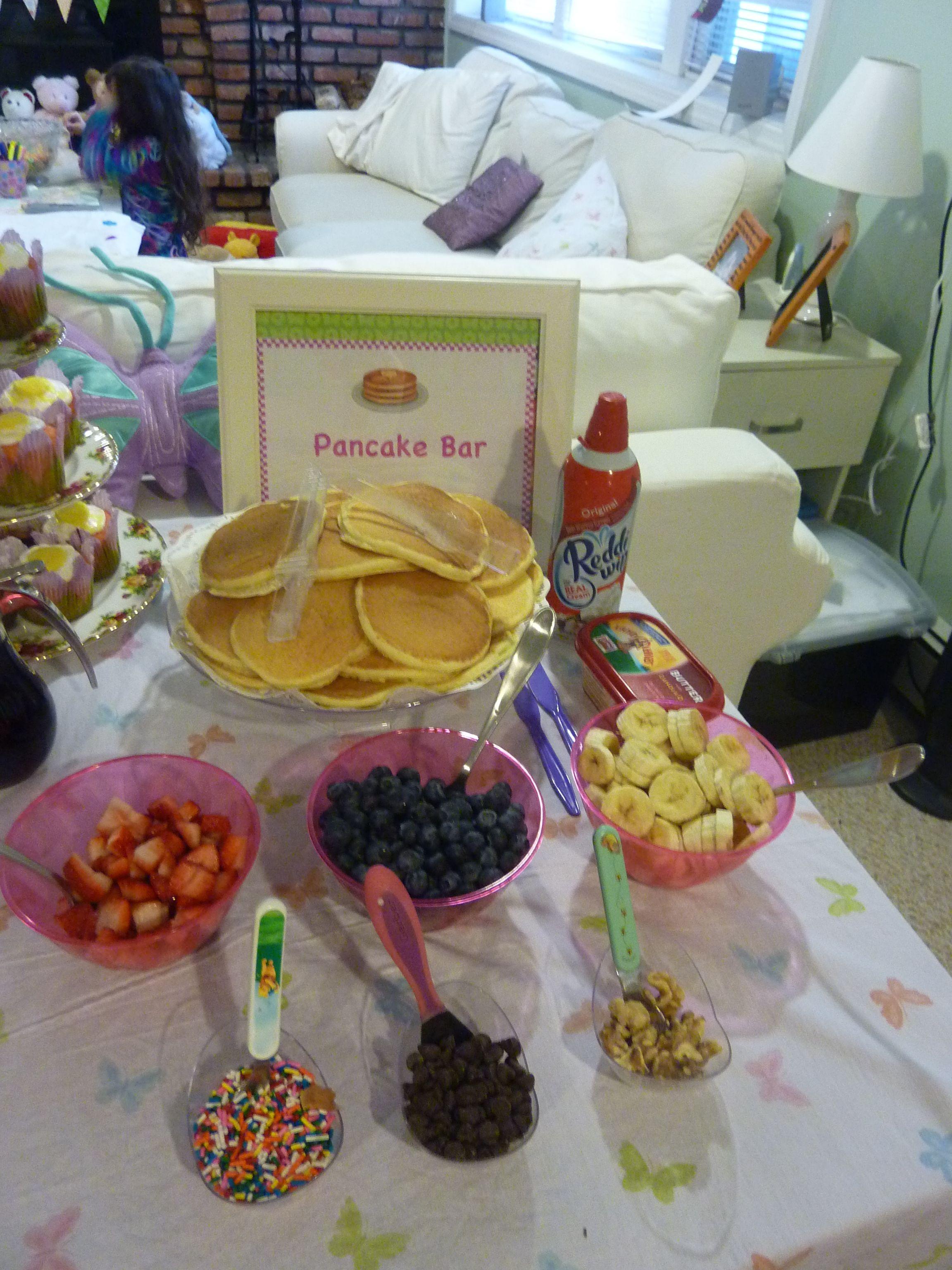 pancake bar pancake and