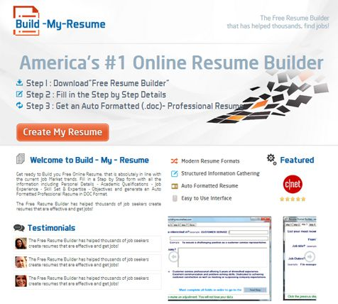 resume builder, free resume builder --u003e http\/\/hellboundbloggers - create your own resume
