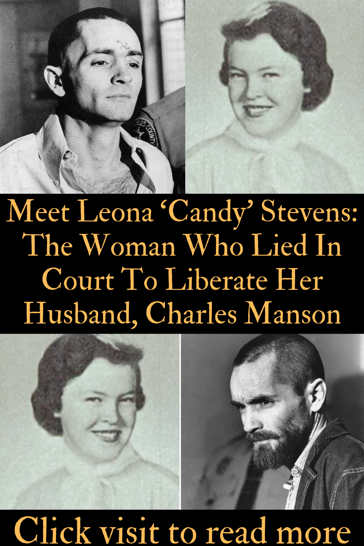 Charles Manson Candy Stevens