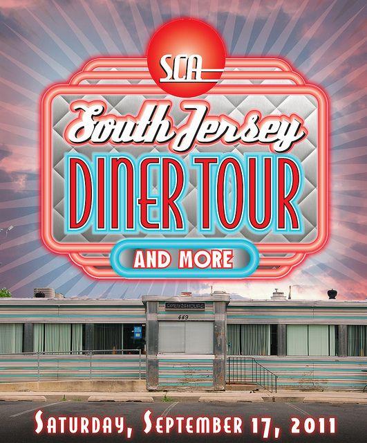 SCA Diner Tour artwork by Rick Kilby
