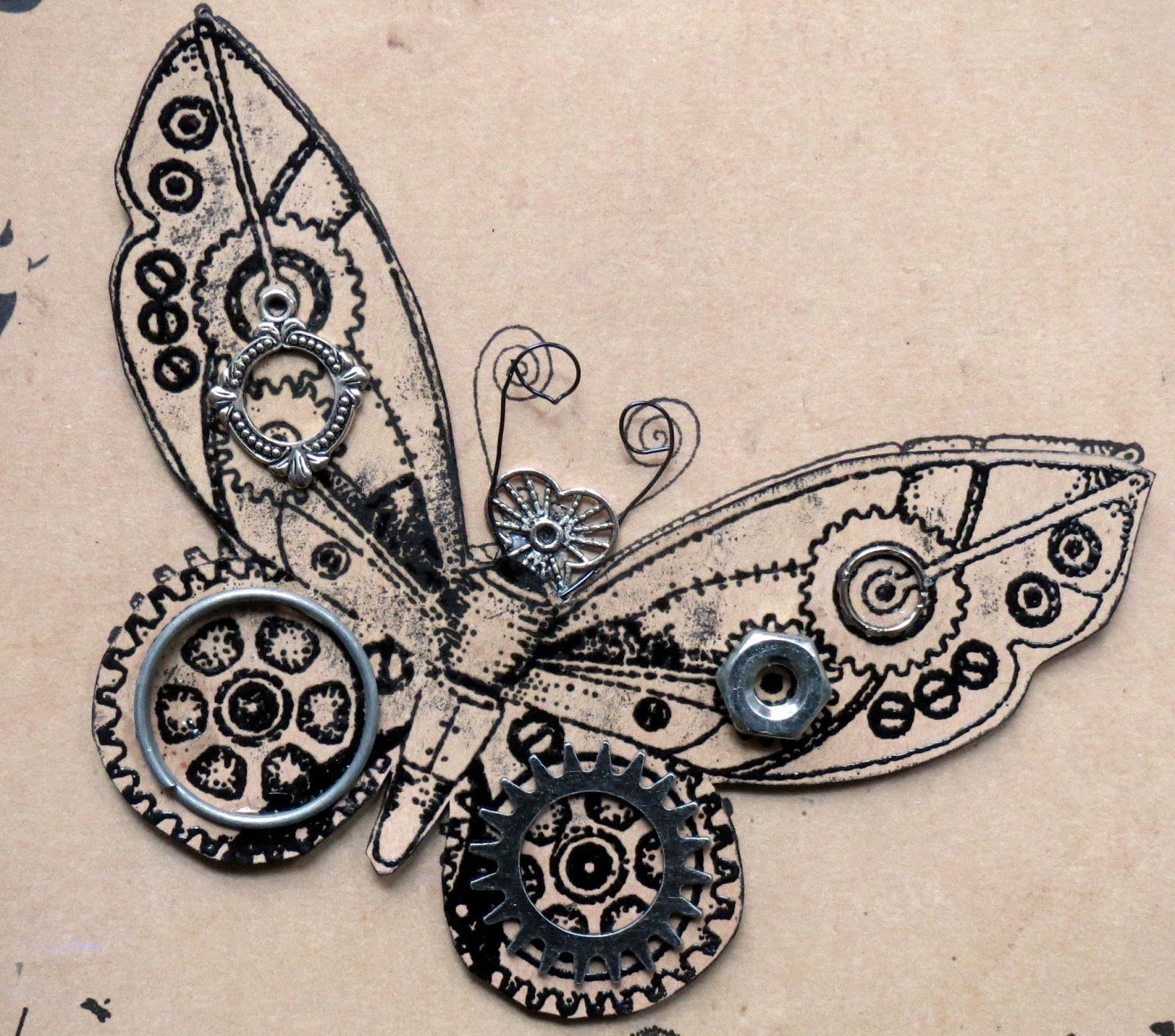 c15f970ca Steampunk Butterfly | my girly side | Steampunk drawing, Steampunk ...