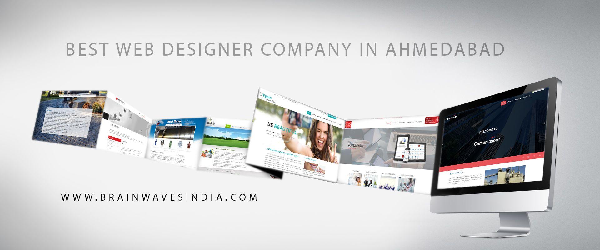 Web Design Development Company In Ahmedabad India Brainwaves Web Development Design Web Design Web Design Company