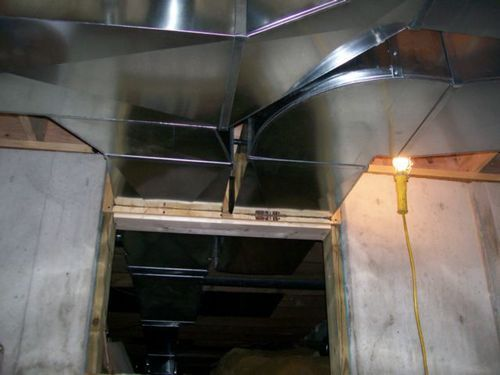 How To Seal Sheet Metal Duct With Mastic Sheet Metal Duct Work Duct