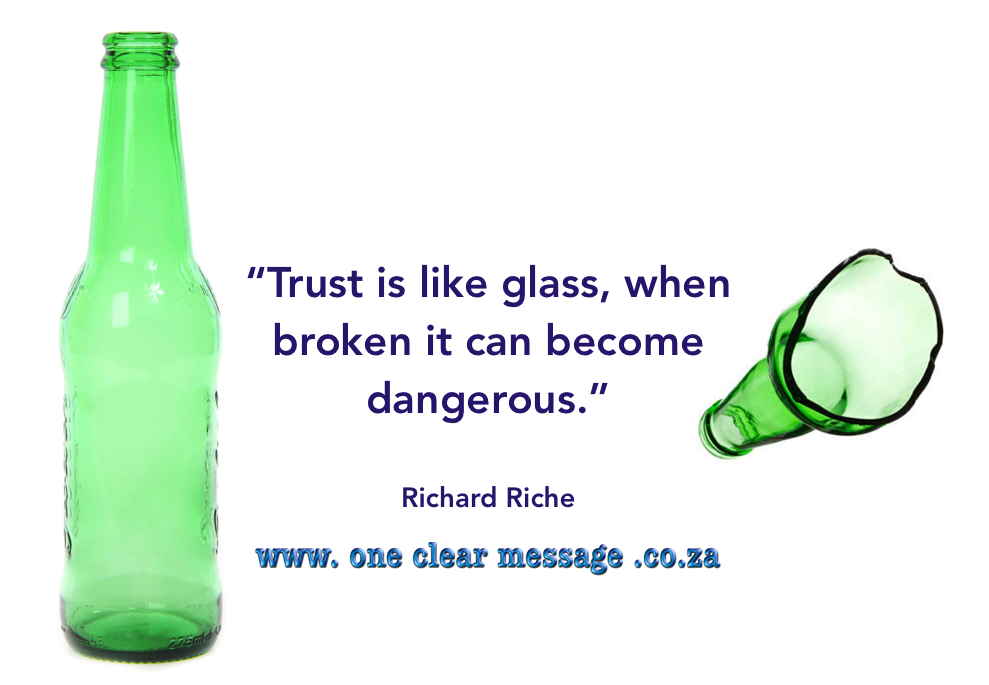 5 Elements For Building Trust In The Workplace Bottling Up Emotions Workplace Broken Trust
