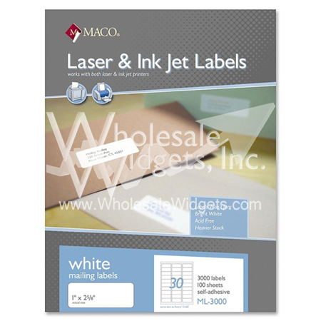 maco ml 3000 type 5160 labels for use in maco ml 3000 type 5160