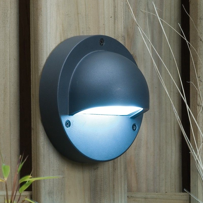 Techmar Plug And Play   Deimos LED Garden Wall Light