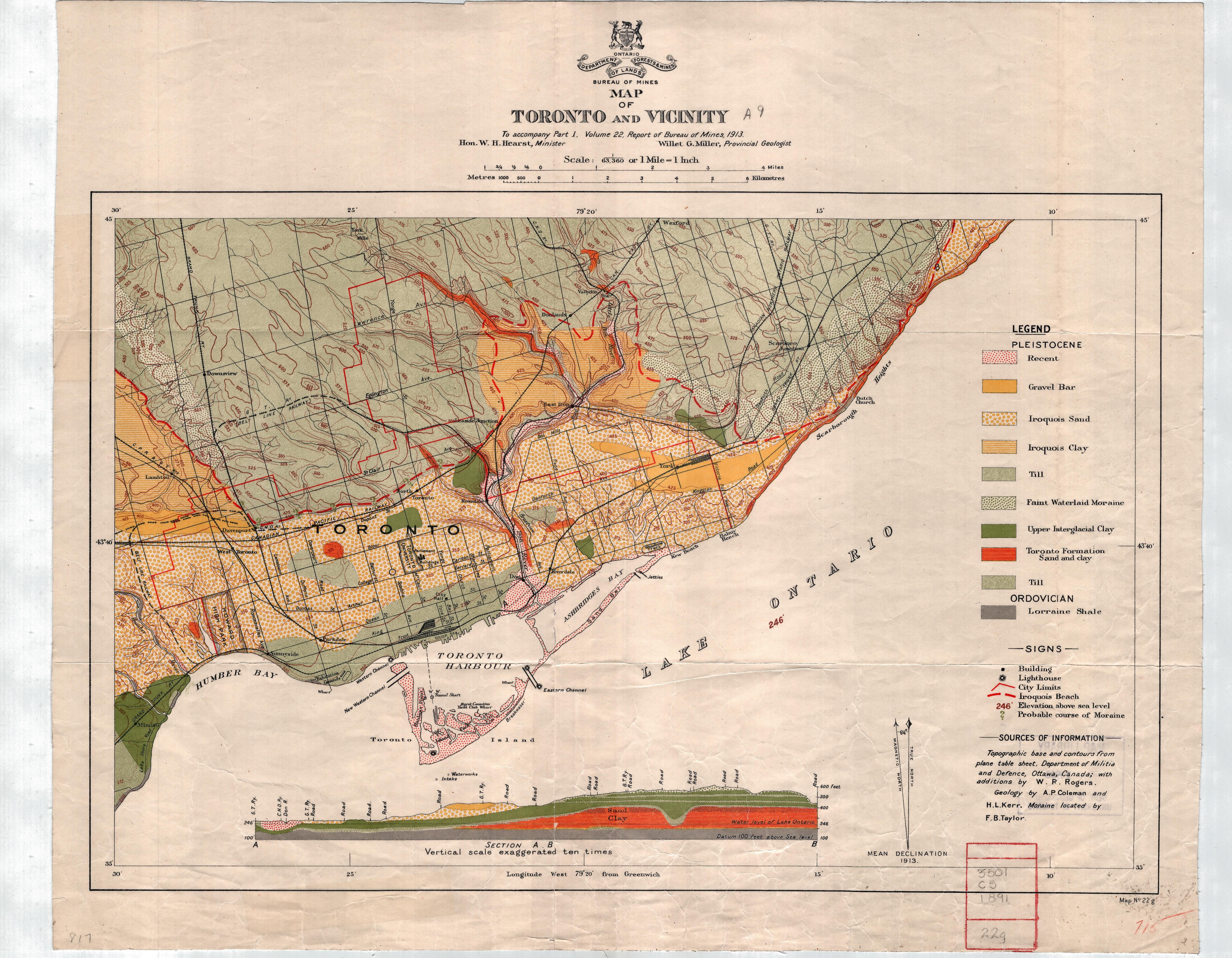 Don River Valley Historical Mapping (6602×5136) | Map ...