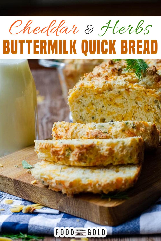 Savory Buttermilk Cheddar Quick Bread Breadbakers Recipe In 2020 Quick Bread Recipes Quick Bread Recipes