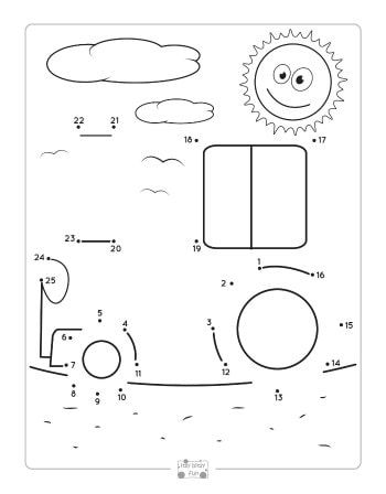 fall dot to dot worksheets counting to 25 crafts activities for kids worksheets skip. Black Bedroom Furniture Sets. Home Design Ideas