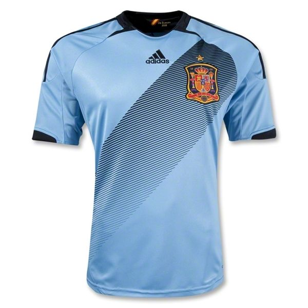 1c405bfba13 Spain 12/13 Away Soccer Jersey | JERSEYS AND CLEATS | Soccer shirts ...