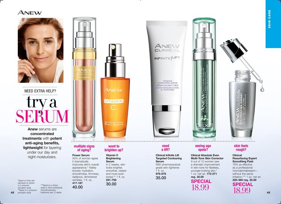 Online Brochure By Avon Avon Skin Care Top Skin Care Products Night Moisturizer