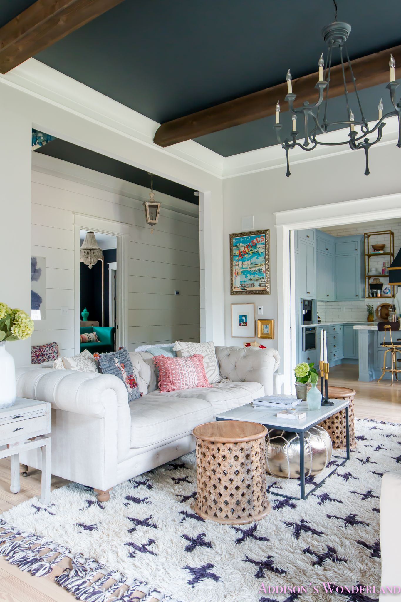 A Guide To Saving Big On All Things Anthropologie Home Addison S Wonderland Living Room White Living Room Colors Rugs In Living Room