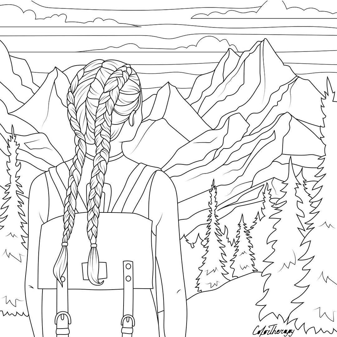 26+ Cute vsco girl coloring pages ideas