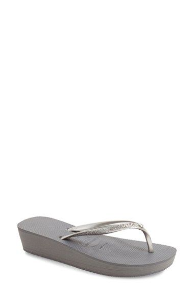 df74c172c Havaianas  Highlight Glamour  Sandal (Women) available at  Nordstrom (also  in black) !!!
