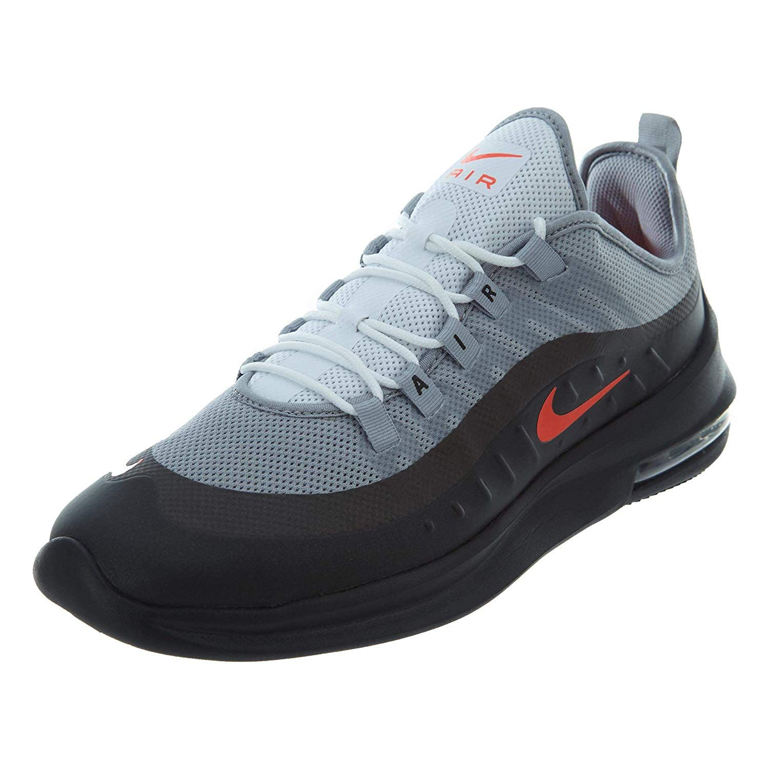 Nike Men's Air Max Axis Gym Wolf Grey/Black Sneaker (With