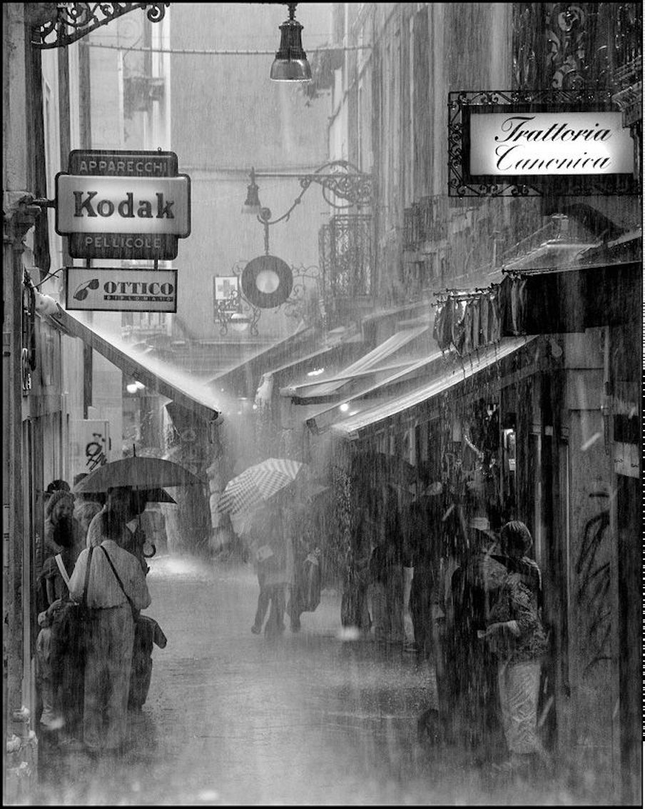 Roby Bon: Venice in the rain