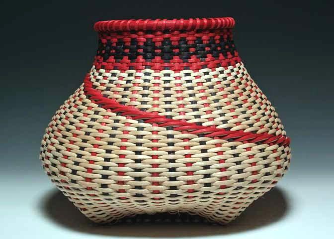 Red/black+Large+Signature+Basket+by+JustaBunchofBaskets+on+Etsy,+$2,000.00