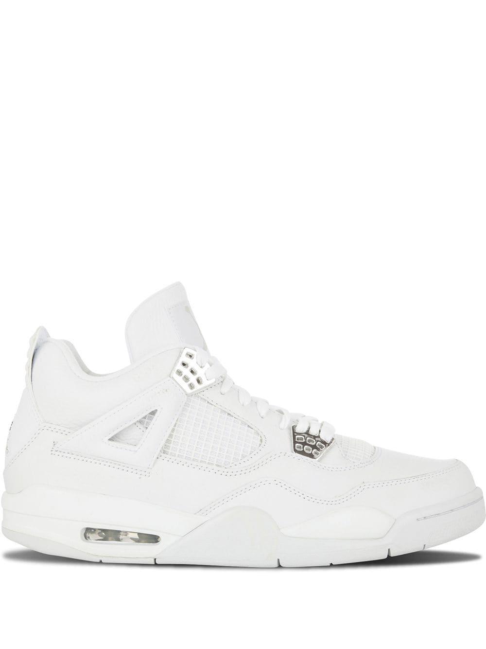 Jordan Air 4 Retro High Top Sneakers In