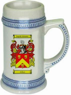 Arthurs scottish coat of arms Stein $24.99