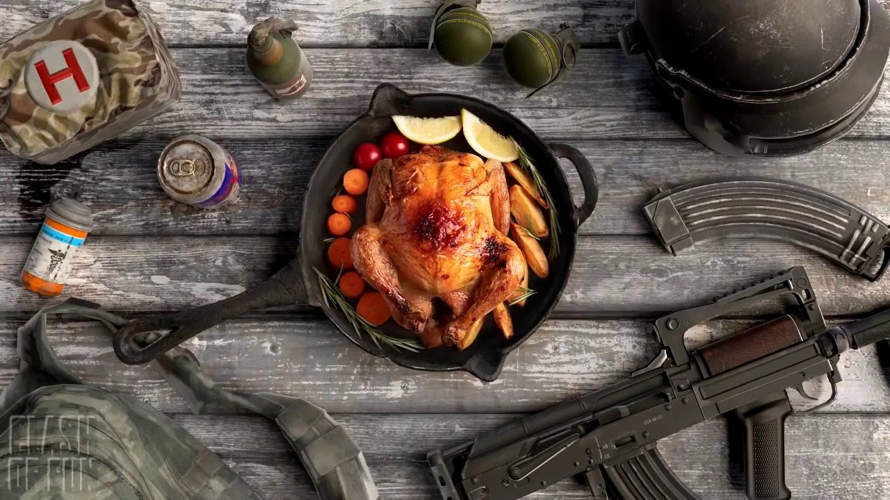 Pubg Mobile Funny Moments Epic Fail Wtf Moments Chicken Dinner Phone Wallpaper Food Wallpaper Chicken dinner pubg mobile wallpaper hd