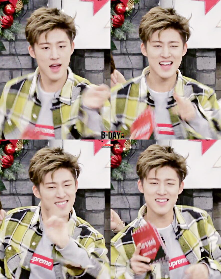 "B-DAY on Twitter: ""[CAP] 151223 V app KONY'S MAS 좋은 크리스마스 보내세요! :)  #BI #비아이 #김한빈 #iKON https://t.co/XEeNMWbNWM https://t.co/3whqfznway"""