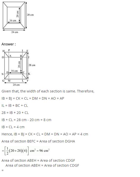 NCERT solutions for class 8 maths chapter 11 mensuration Ex-11.2 ...