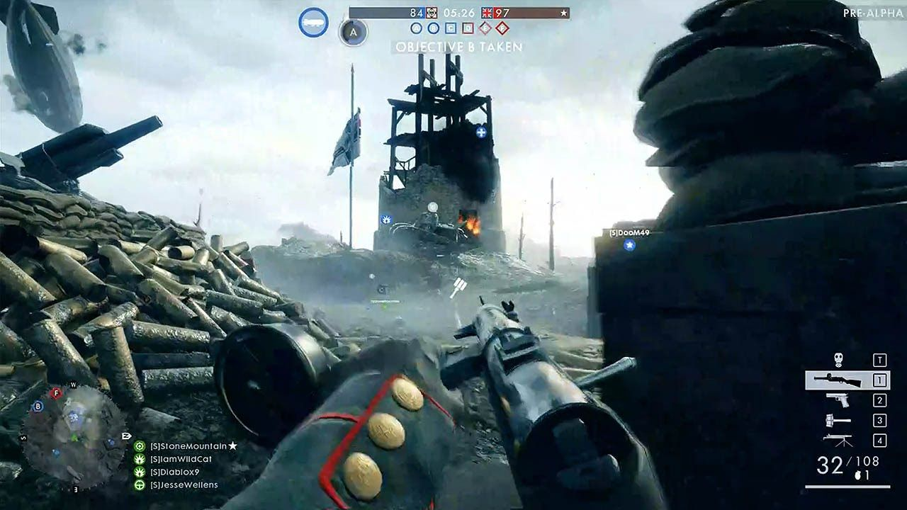 Battlefield 1 50 Minutes Multiplayer Gameplay Pc 1080p Hd