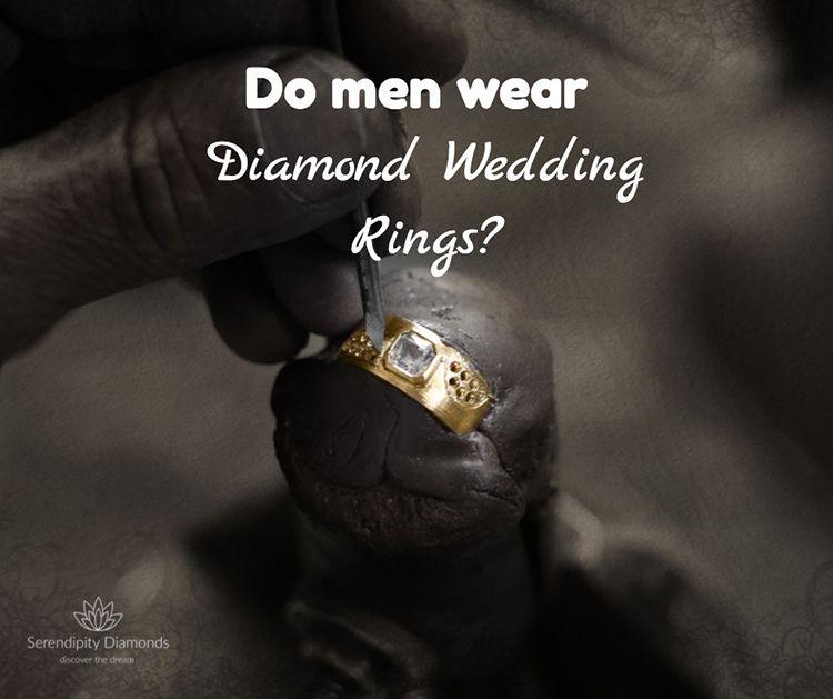 Do Men Wear Diamond Wedding Rings? Do Men Wear Engagement Rings?