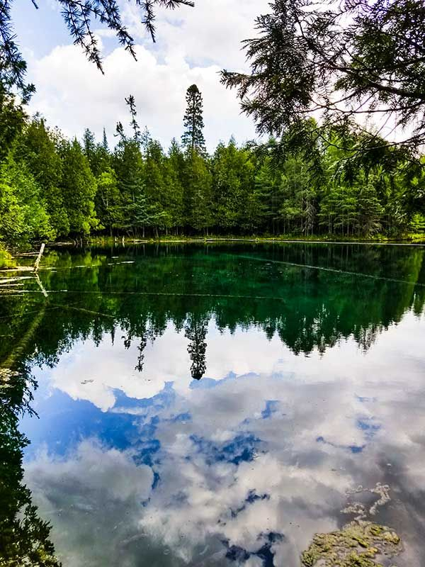 Kitch-iti-Kipi -This Surreal Spring in Michigan's Upper Peninsula is a Must See - This Michigan Life