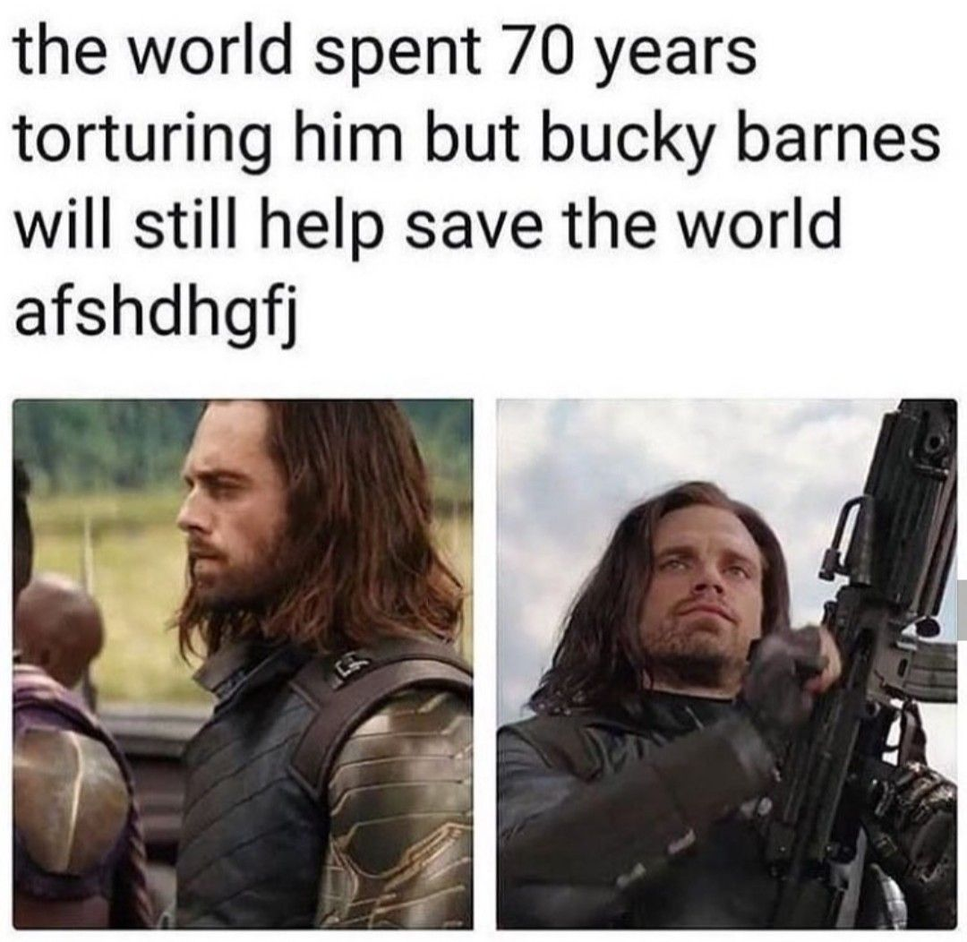 Bucky Barnes Marvel Memes