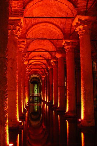 yerebatan basilicacistern istanbul architecture armenian turkey underground