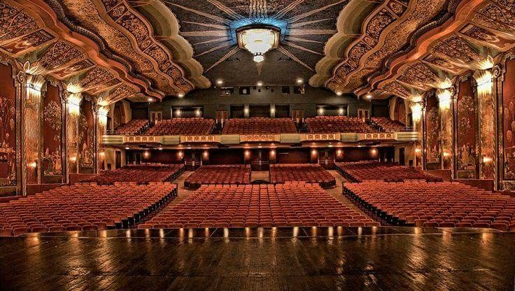 Pin By Daniel White On Art Decoration Paramount Theater Historic Theater Paramount