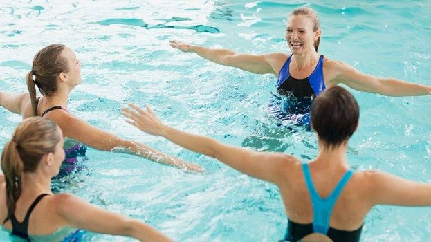 Soothe Sore Joints With Water Exercise