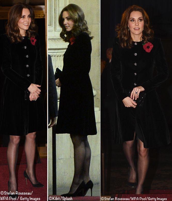 Black velvet evening coat