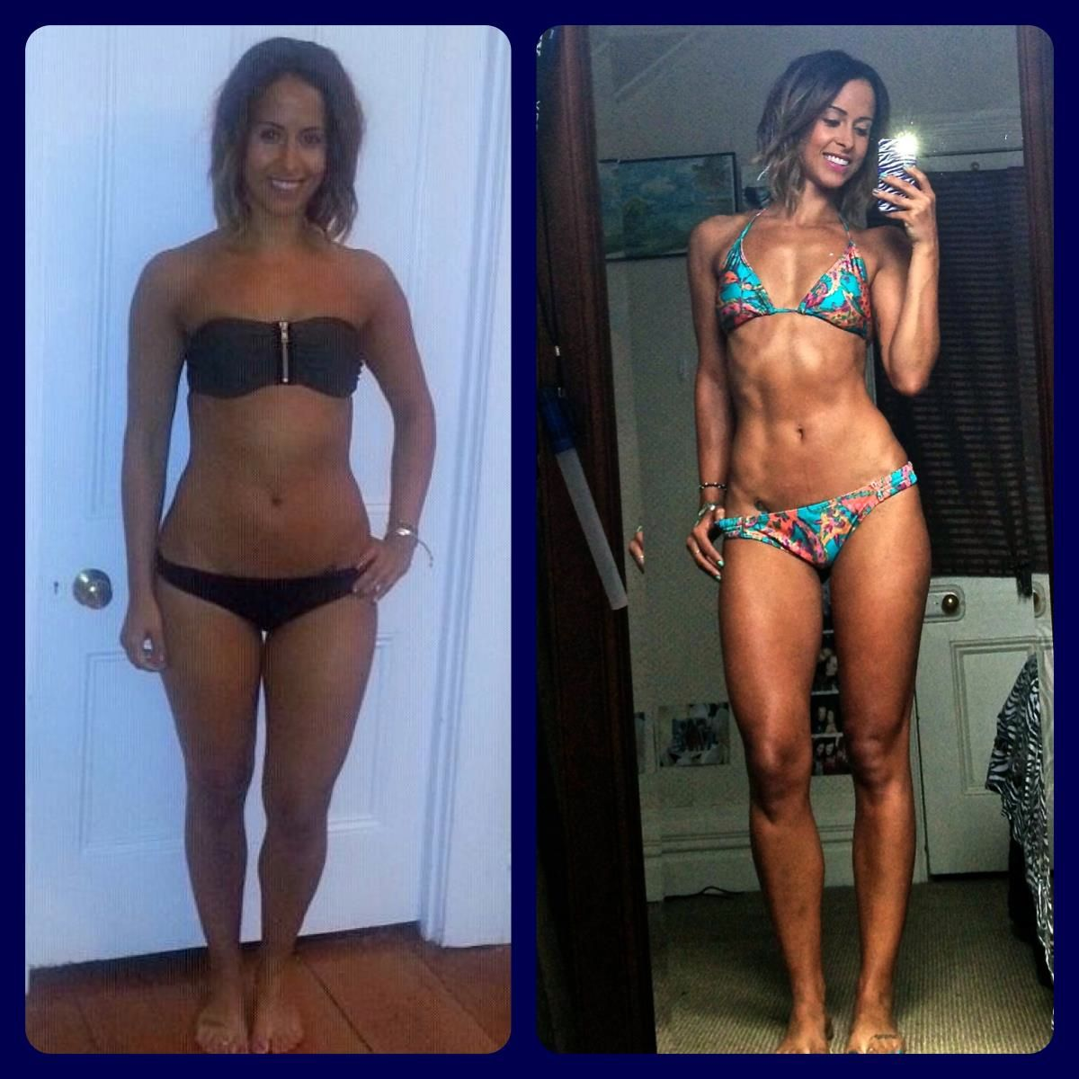 Supposed To Be A Before And After Crossfit Picture I Think She Looks Million Times Better In The BEFORE