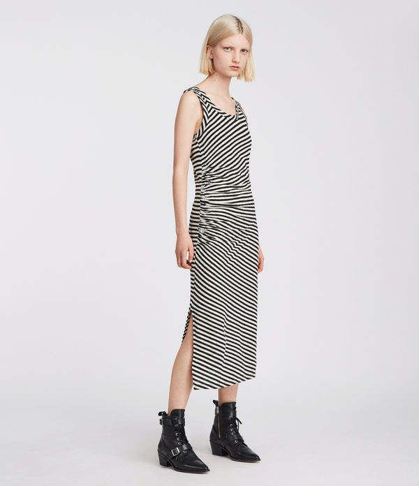 Tina Stripe Dress | Outlet clothing, Casual formal dresses