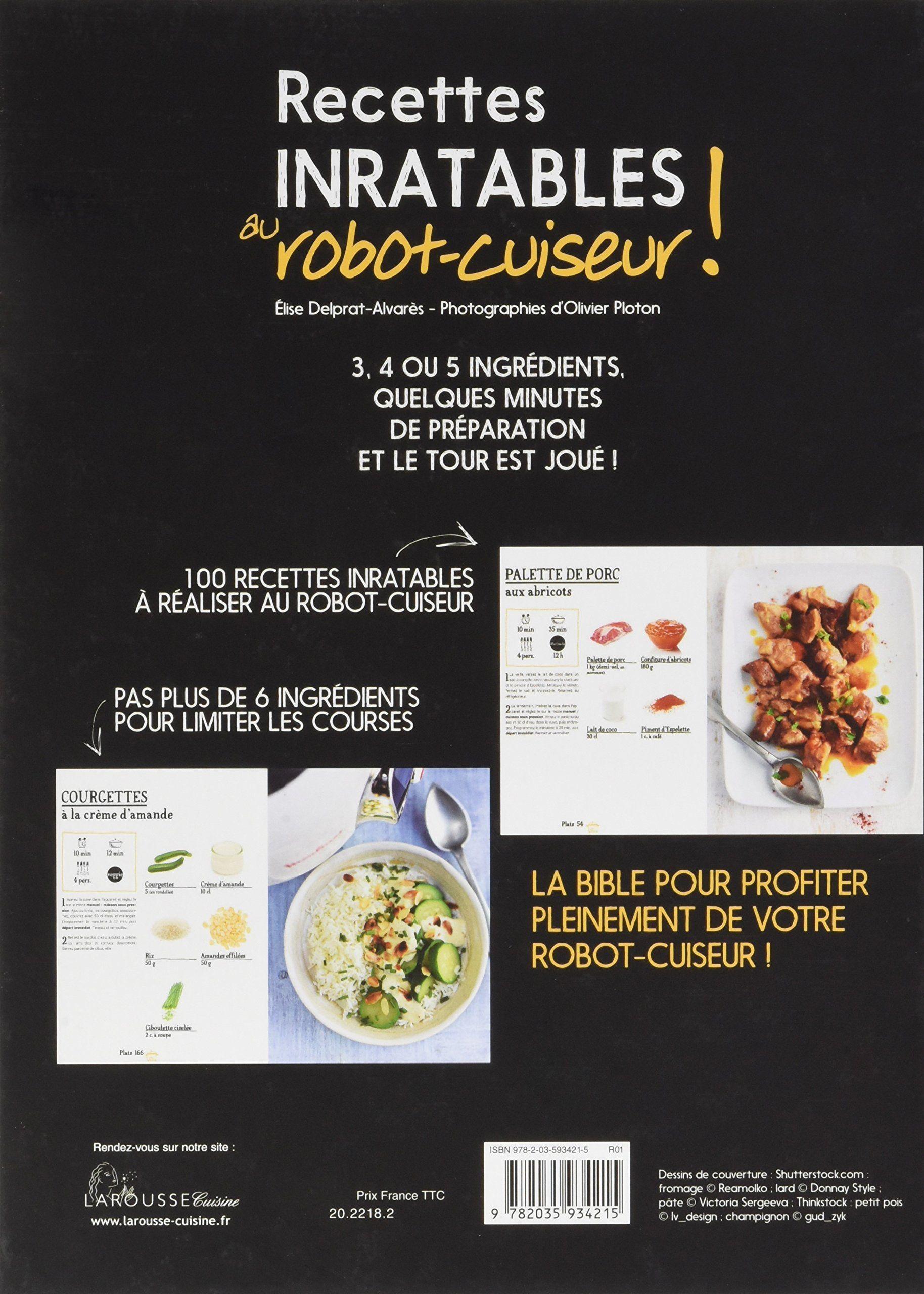 Recettes Inratables Au Robot Cuiseur Epub border=