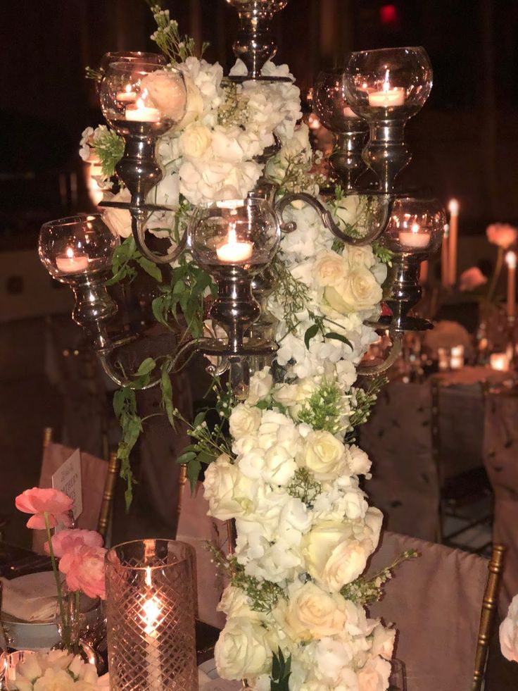 A Royal Fete At The Plaza Hotel Wedding Centerpiece Inspiration