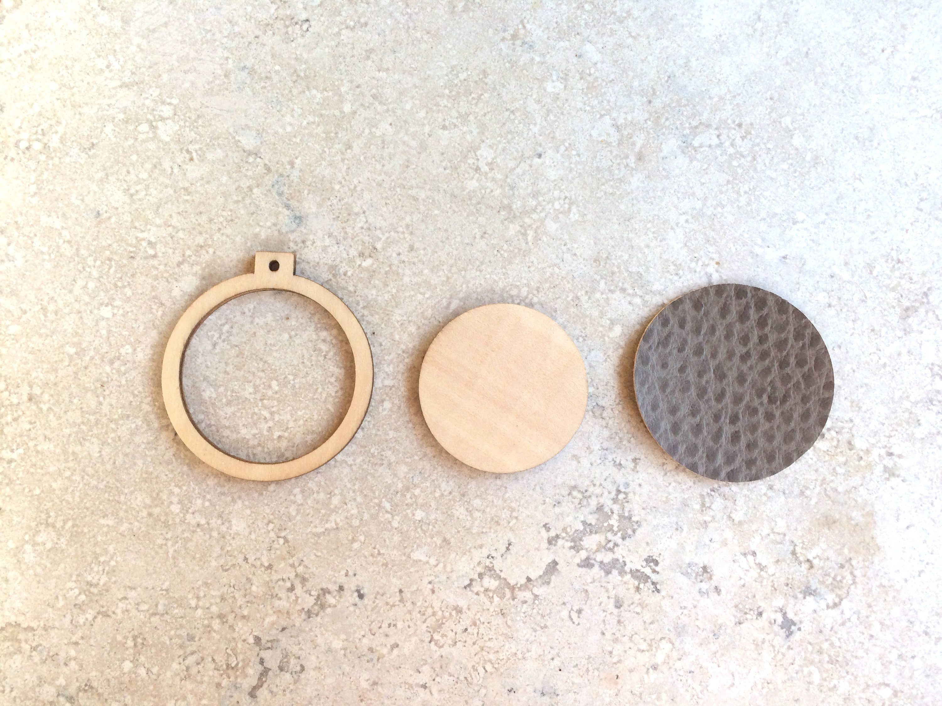 Diy miniature embroidery hoop wood pendant cross stitch hoop make your own embroidered necklace diy miniature embroidery hoop wood pendant cross stitch hoop aloadofball Images