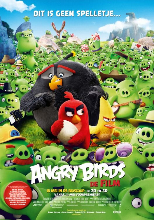 Angry Birds Movie Poster 5 Angry Birds Angry Birds Movie Angry Birds 2016