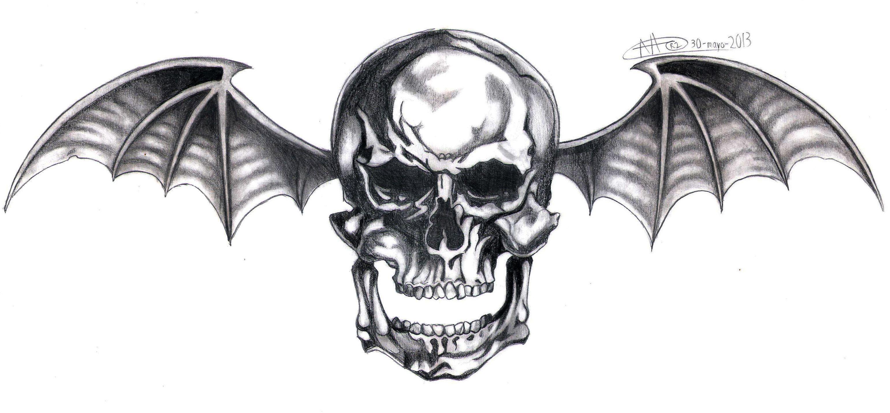 Avenged Sevenfold logo. 3052013 Bat tattoo, Avenged