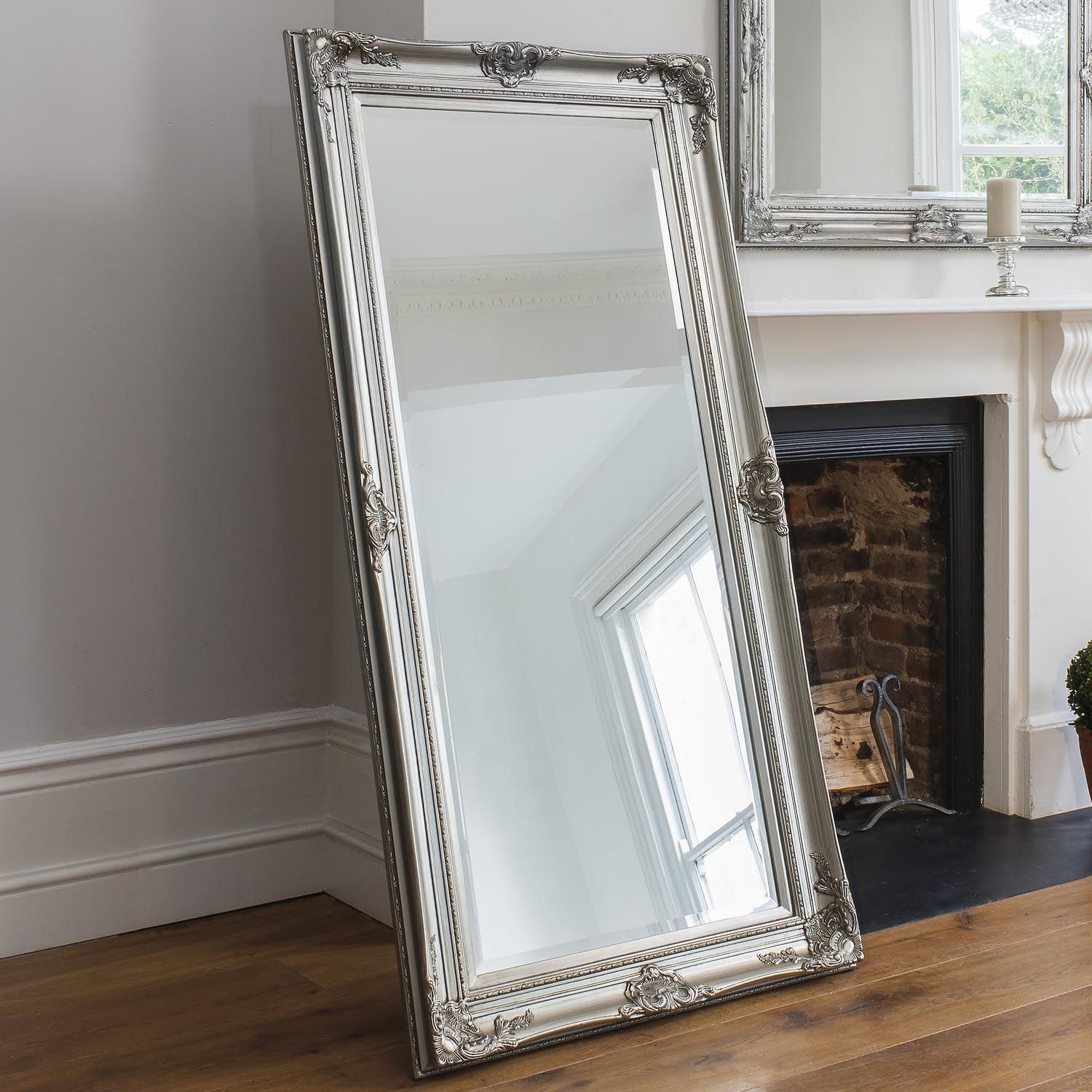 bedrooms casual for white decoration long bedroom length mirror in standing accent mirrors floor large