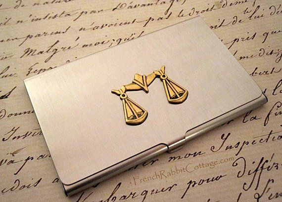 ATTORNEY GIFT LAWYER Business Card Case. Law School Graduate Gift Law School Graduation Scales of Ju & Attorney Gift Lawyer Business Card Case. Law School Graduate Gift ...