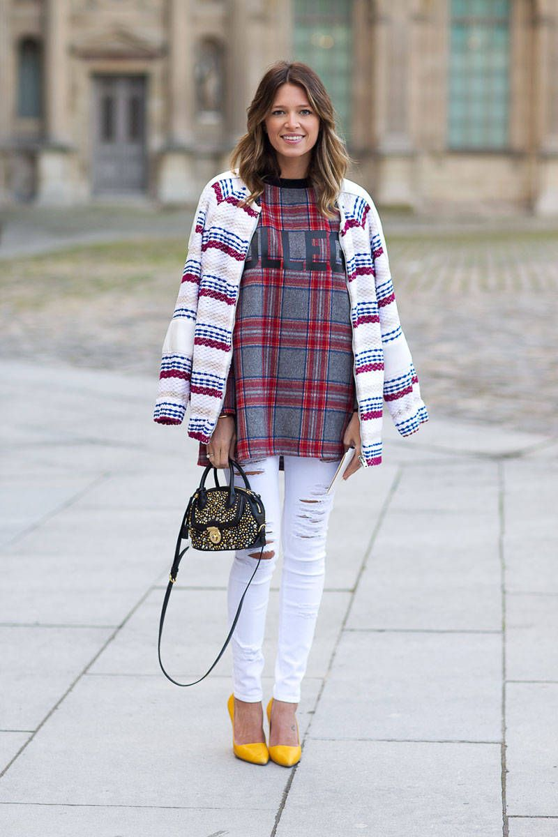 Ma Cherie Street Style From Paris Fall 2014 Cool Street Fashion Street Style Autumn Street Style