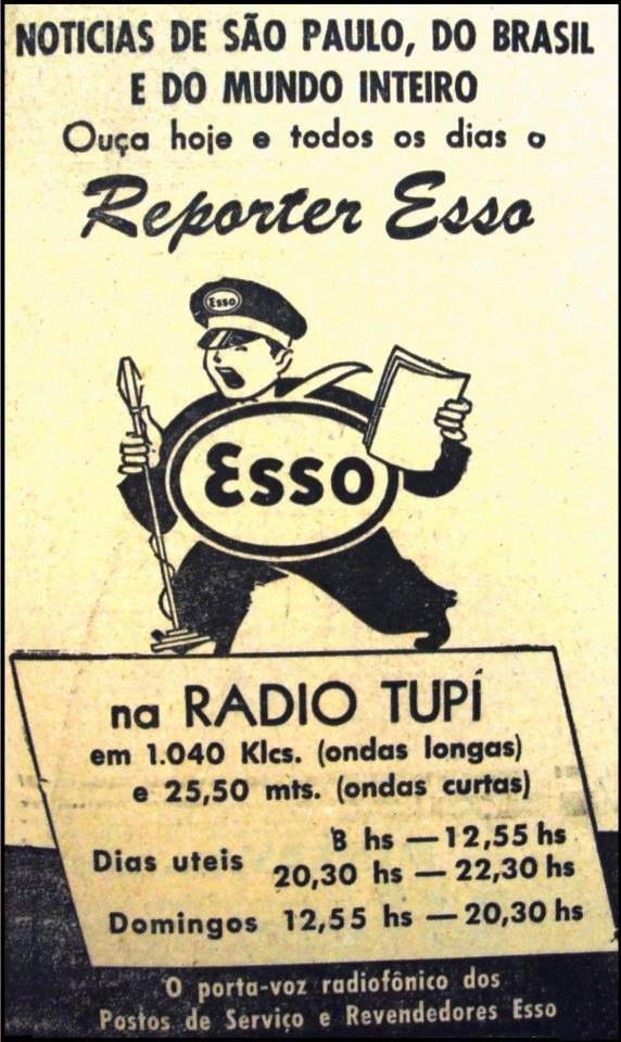 Reporter Esso na Rádio Tupi.