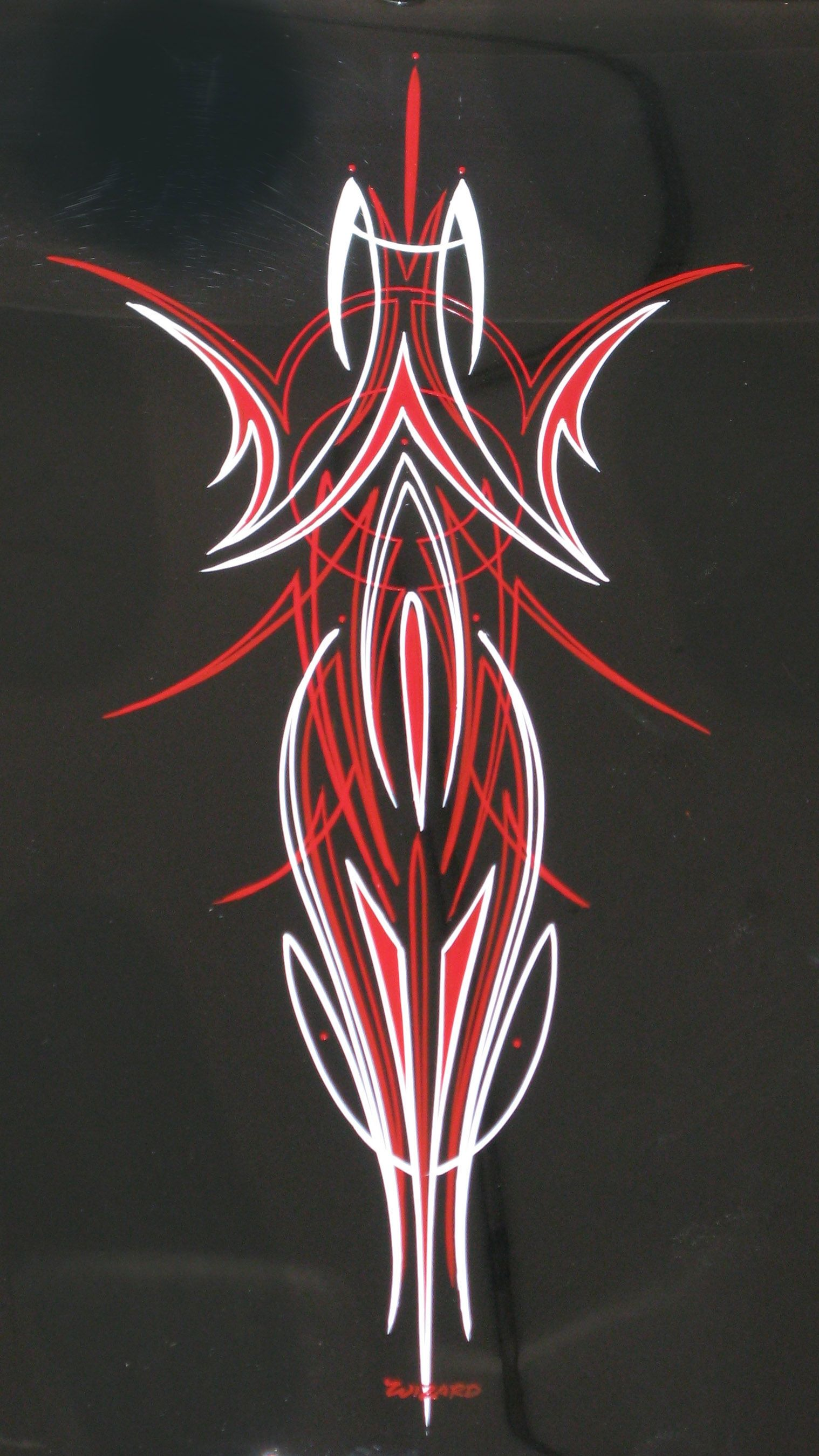 Pinstriping Tattoos And The Like Pinstripe Art