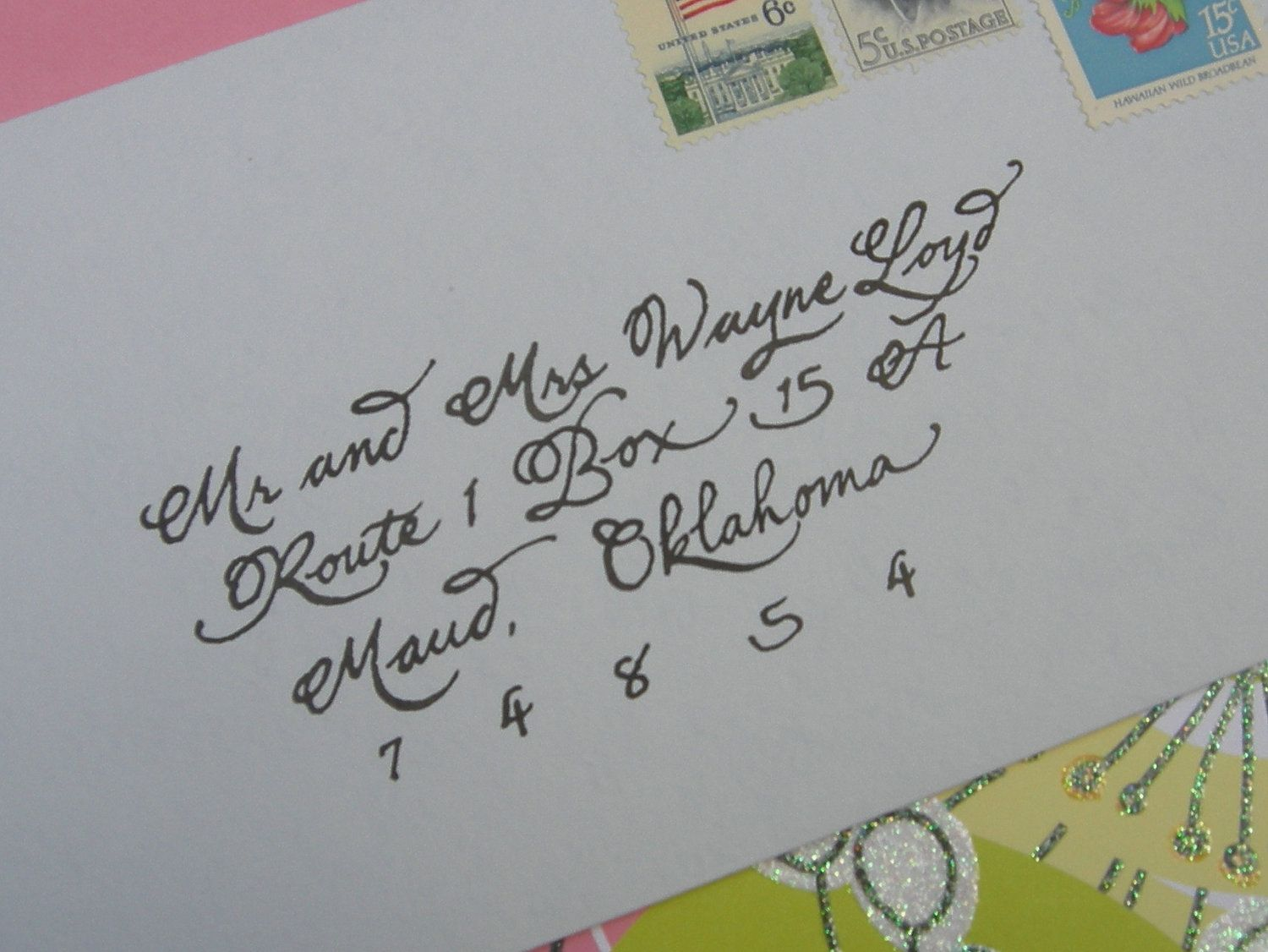 Rosemarie Custom Wedding Calligraphy Envelope Addressing