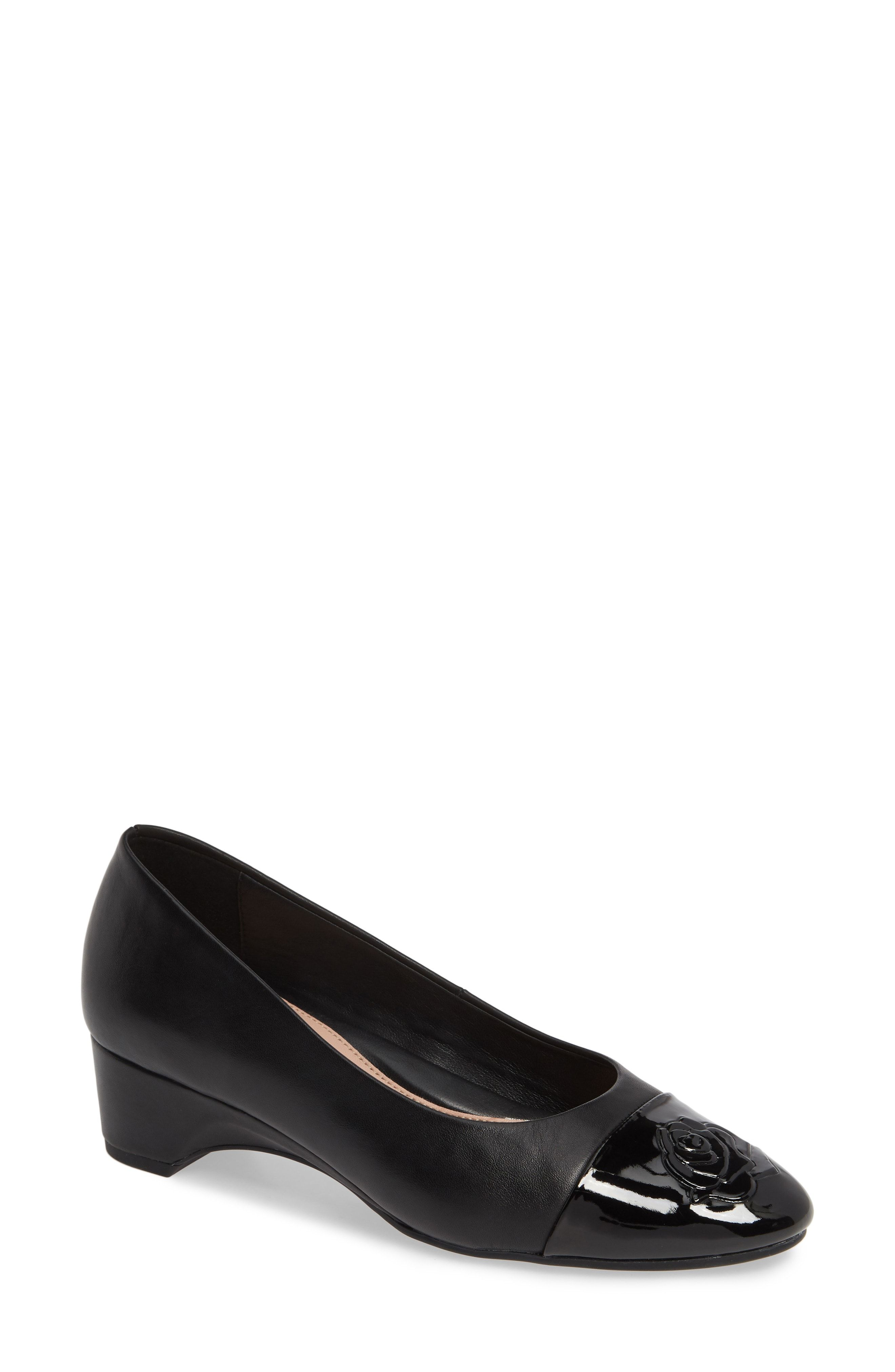 81ac4196843a TARYN ROSE BABE CAP TOE PUMP.  tarynrose  shoes
