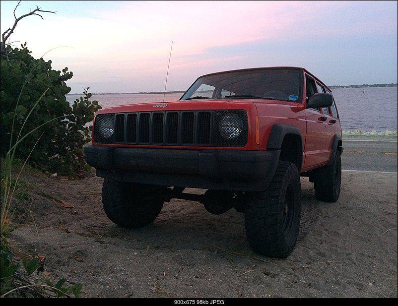 Round Headlights Jeep Cherokee Xj Jeep Xj Jeep Xj Mods
